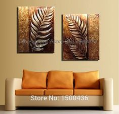 Discover thousands of images about Golden Leaves Canvas Art Set Multi Canvas Painting, Canvas Art, 3d Wall Art, Wall Art Prints, Indian Art Paintings, Art N Craft, Pottery Painting, Texture Painting, Modern Art