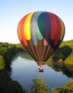 Up and Away Over the Russian RIver, Sonoma County