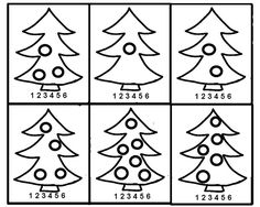 Number Puzzles, Math Numbers, Learning Numbers, Kids Math Worksheets, Math For Kids, Christmas Themes, Art Projects, Archive, Cards