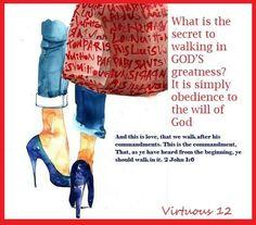 God loves obedience