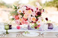 the colour combination of this arrangement adds rich texture and interest.