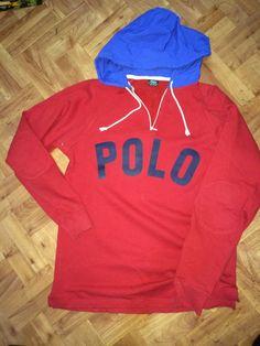 VINTAGE POLO RALPH LAUREN RUGBY HOODIE BEAR SKI PWING CLASSIC SNOW RLX SPORT RRL #PoloRalphLauren #Hoodie