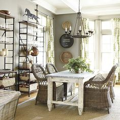 some-rustic-woven-chairs-for-the-dining-room-young-house-love-vibrant-ballard.jpg My favorite dining room so far! Young House Love, Driven By Decor, Woven Chair, Farmhouse Style Decorating, Farmhouse Renovation, Farmhouse Decor, Ballard Designs, Dining Room Design, Country Decor