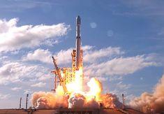 Revivez le lancement du Falcon Heavy de chez Space X