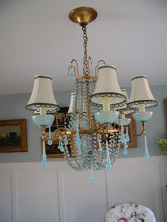 Maison Decor: Fabulous Opaline Chandeliers