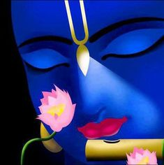 Beautiful simple, krishna image with Vaisnava tilak. mark our bodies to remember Krishna and a reminder that every body is a temple in which Krishna's form as Paramatma dwells. Hare Krishna, Krishna Leela, Jai Shree Krishna, Radha Krishna Images, Lord Krishna Images, Krishna Radha, Krishna Pictures, Shiva Art, Hindu Art