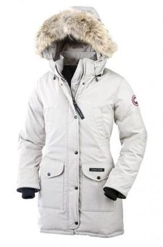 Canada Goose Trillium Parka Women White With Fast Delivery - $309
