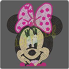 Mickey Minnie Mouse Rhinestone Designs
