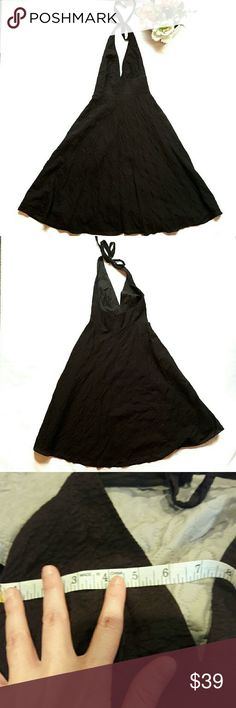 j. crew ⏺ designer halter dress In perfect condition. Such a cute dress to wear anytime. Zips up the back. Dark brown in color. Measurements provided in pics above. From a smoke and pet free home. I ship fast! Office - Vacation - Wedding - Fun - Dress up - date night - cruise - spring - summer *IF YOU LIKE MY ITEMS, please FOLLOW ME to see NEW ARRIVALS that are added weekly! * J. Crew Dresses