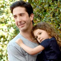 David Schwimmer Shows Off Adorable Daughter Cleo, 4, …