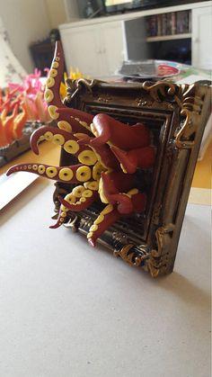 Dimensional Portal dark red/yellow tentacles