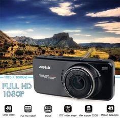 Best seller. Original Anytek AT66A Full HD Dashboard Camera.