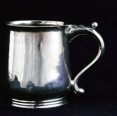 George Washington's Christening cup may look familiar! Our hallmarked silver Christening cup is almost identical to this 18th century version!