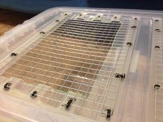 Make a hamster cage.