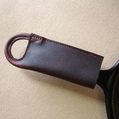 Leather Pan Handle Potholder