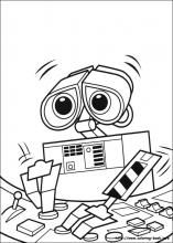 Click on the image to download this cute Wall-E and EVE
