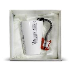 Hrnček gitara - origoš darčeky | DARCEKY-eshop.sk Mugs, Tableware, Dinnerware, Tumblers, Tablewares, Mug, Dishes, Place Settings, Cups