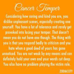 Cancerian Temper