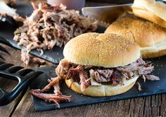 This is real deal Carolina style BBQ! No shortcuts, just the best smoked pork shoulder and pulled pork sandwiches you've ever doused in a tangy vinegar based BBQ sauce!
