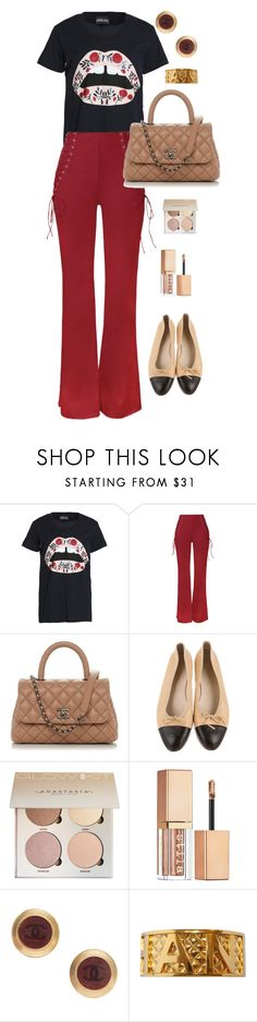 """pls like if u are going to use an item from my set"" by alaa88 ❤ liked on Polyvore featuring Markus Lupfer, WithChic, Chanel and Stila"