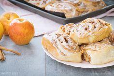 Bratapfel-Zimtschnecken - Sallys Blog