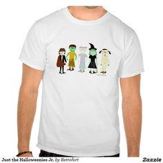 Just the Halloweenies Jr. Tshirts