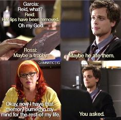 criminal minds, penelope garcia, spencer reid