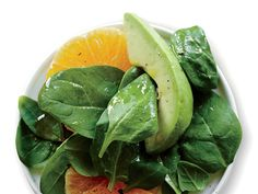 Creamy avocado and juicy citrus contrast nicely in this salad. View Recipe: Spinach Salad with Avocado and Orange