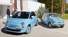New Fiat 500 1957 Edition Pricing Announced! Fiat 126, 2015 Fiat 500, Fiat 500 Sport, Fiat 500c, Fiat 500 Lounge, Classic Style, Classic Cars, Fiat Spider, New Fiat
