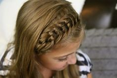The Knotted Braid Headband | Back-to-School Hairstyles