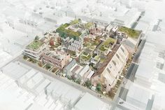 Karres en Brands ontwerpt 'suburb van de toekomst' - PhotoID #307001 - architectenweb.nl