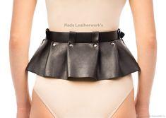 Wide Leather Belt, Leather Design, Latex, Short Dresses, Mini Skirts, Rock, Craft, Random, Accessories
