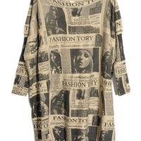 Newspaper Sweater >  Unique