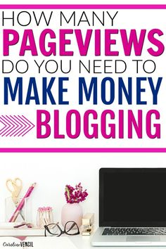 This is AMAZING! She tells you how many pageviews you need to make a full-time income from blogging! What it takes to actually make money from a profitable blog. She makes more than $15,000/month from blogging full-time! Tips and tricks to making money fr