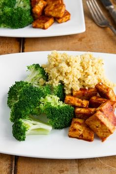 Vegan recipes! *pretty sure raw broccoli, plain couscous and fried tofu isn't a recipe*