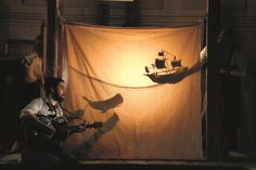 Image result for shadow lanterns theatrical set