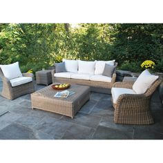 Our Kingsley-Bate Sag Harbor 6-Piece Sofa Set blends rustic charm and modern comfort. Shop more Kingsley-Bate sets online and enjoy free fabric swatches, free shipping, and the lowest online prices when you order from AuthenTeak. This set, $4433.