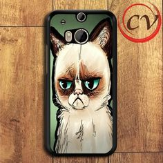 Grumpy Cat HTC One M8 Black Case