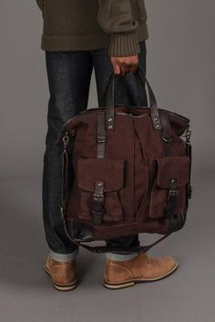 John Varvatos Tote Bag//