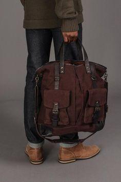 John Varvatos Tote Bag//