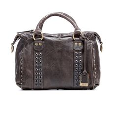 Maple and West Frye Roxanne Satchel - Grey