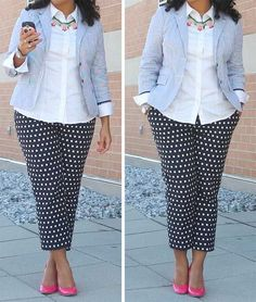 Button it down   10 Amazing Plus Size Fashion Tips For Women
