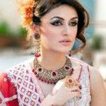 Anum Yazdani Beautiful Bridal Jewelry Sets 2013
