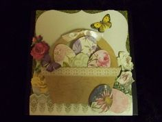 All from Anna Griffin's paper, border and embellishments! - Scrapbook.com