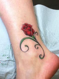 wrist tattoo flower - Google Search                                                                                                                                                     More