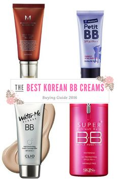 Since we're huge fans of Korean beauty products, we've decided to test some of the best Korean BB creams on the market, and share our results with you.