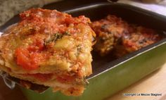 Parmigiana di pane raffermo, ricetta riciclo