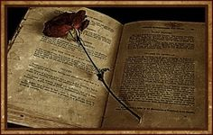 I love old Grimoires or Book of Shadows. I could thumb through them all day. This is particularly beautiful, the well-worn page with the beauty of a rose. Magic Spell Book, Magic Spells, Love Spells, Spell Books, Witch Wand, Witch Spell, Traditional Witchcraft, Touch Love, Definition Of Love
