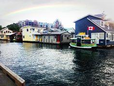 Beautiful house boat community ;)