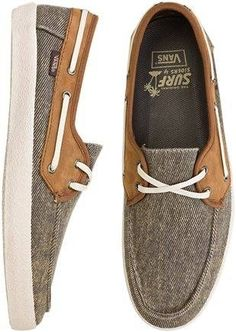 Chauffeur Surf Siders by Vans $56